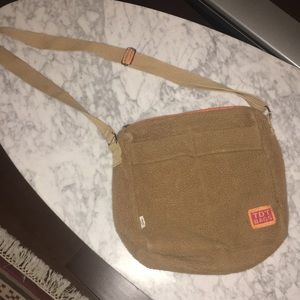 TDT Fleece Crossbody Bag